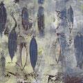 ´O.T (aus Formensammlung I)` 2007, 40x58 cm, 3 Farben/Material/Tonpapier