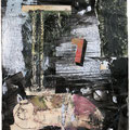 « Der 7.Tag »  2010         39,5 x29,5 cm, Collage