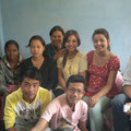 L'équipe des jeunes de Bhaktapur