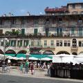 Piazza delle Erbe - Vérone