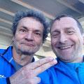 Herbert Steffny mit Udo beim New York Marathon 2016