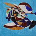 Kolibri - Acryl auf Holz; 15 cm x 20 cm