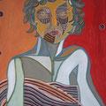 Luise - 2015, Öl auf Karton, 42 cm x 60 cm, Privatsammlung
