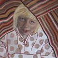 Odetta, der Schalk - 2015, Öl auf Leinwand, 60 cm x 50 cm