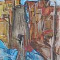 Mischtechnik auf Papier - 20 cm x 27 cm, Privatsammlung