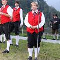 Obfrau Heidemarie Hubauer freut sich schon auf´s neue Musikheim...