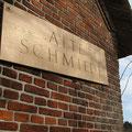 Bildhauerei Hans Jannsen -Postkarte: Alte Schmiede Ausackerholz 2013