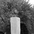 """Hans Jannsen: Skulptur """"Böser Geist"""" 2011, Eiche, 25 cm"""