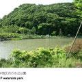YRP開発の後、再生された池が周囲の自然ととても調和しています。