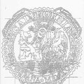 "Study for ""California State Seal"", Los Angeles, California  USA  ©2001, Pencil on Paper"