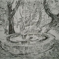 """ART HFrei - """"Nach Van Gogh"""" - Tusche-Rohrfeder - 2007"""