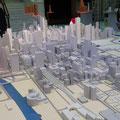 Chicago, Innenstadtmodell in der Cicago Architecture Foundation