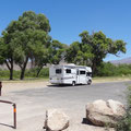 Parkplatz bei Daniel's Ranch