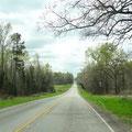 Zufahrt zum Lake Bob Sandlin State Park
