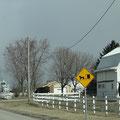 Durch Amish Country von Goshen nach Shipshewana