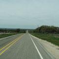 Fahrt auf der Farm Road 1323 nach Willow City