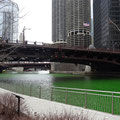 Chicago River - grün, grün, grün