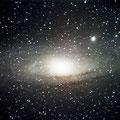 Messier M31 - 25 x30s, -12Grad, 2x2 binning, full, ohne Flats mit Darks - 22.08.2015