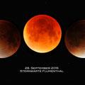 Die totale Mondfisnternis am 28. September 2015