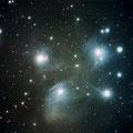 """Der offene Sternhaufen M45 """"Plejaden"""" am 1. Dezember 2015"""