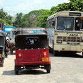 Eng geht es in allen Ortchaften Sri Lankas zu