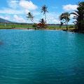 Achtung - im ersten Hot Water Spring von Ranolewo ist Baden nicht empfehlenswert.