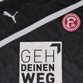 Trikot, 2. Ausweichtrikot, Saison 2012/2013, Fortuna Düsseldorf, matchprepared, Nr.13, Leon Balogun, Puma, Geh Deinen Weg
