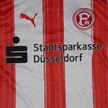 Trikot, Heimtrikot, Saison 2010/2011, Fortuna Düsseldorf, matchworn, Nr. 14, Sandor Torghelle, Puma, Stadtsparkasse Düsseldorf