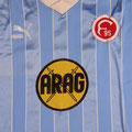Trikot, Ausweichtrikot, Saison 1985/1986, Fortuna Düsseldorf, Nr. 18, matchworn, Puma, ARAG