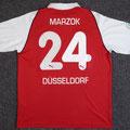 Trikot, Heimtrikot, Saison 2004/2005, Fortuna Düsseldorf, matchworn, Nr. 24, Lukas Marzok, Puma, Stadtsparkasse Düsseldorf
