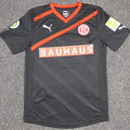 Trikot, Auswärtstrikot, Saison 2011/2012, Fortuna Düsseldorf, matchworn, Nr. 2, Christian Weber, Puma, Bauhaus