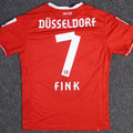 Trikot, Heimtrikot, Saison 2013/2014, Fortuna Düsseldorf, matchworn, Nr. 7, Oliver Fink, Puma, Otelo