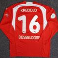 Trikot, Heimtrikot, Saison 2006/2007, Fortuna Düsseldorf, matchworn, Nr. 16, David Krecidlo, Puma, Stadtsparkasse Düsseldorf