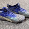 "Fußballschuhe, Schuhe, Saison 2018/2019, Fortuna Düsseldorf, Puma One, matchworn, Andreas ""Lumpi"" Lambertz, personalized, personalisiert"