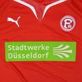 Trikot, Sondertrikot, Wintercup, Saison 2008/2009, Fortuna Düsseldorf, matchworn, Nr. 27, Simon Chekroun, matchworn, Puma, Stadtwerke Düsseldorf