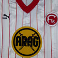 Trikot, Heimtrikot, Saison 1986/1987, Fortuna Düsseldorf, Fanshop, Puma, ARAG