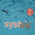 Trikot, Torwarttrikot, hellblau, Saison 2010/11, Fortuna Düsseldorf, Jugend, matchworn, Puma, systaic