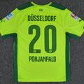 Trikot, Ausweichtrikot, Saison 2014/2015, Fortuna Düsseldorf, matchworn, Nr. 20, Joel Pohjanpalo, Puma, Otelo