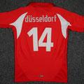 Trikot, Heimtrikot, Saison 2008/2009, Fortuna Düsseldorf, Jugend, U12, matchworn, Puma, Stadtsparkasse Düsseldorf, Tobias Peitz