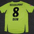 Trikot, Ausweichtrikot, Saison 2010/2011, Fortuna Düsseldorf, matchworn, Nr. 8, Sascha Dum, Puma, Stadtsparkasse Düsseldorf