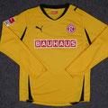 Trikot, Ausweichtrikot, Saison 2011/2012, Fortuna Düsseldorf, matchworn, Nr. 11,  Maximiliam Beister, Puma, Bauhaus