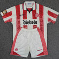 Trikot, Heimtrikot, Saison 1997/1998, Fortuna Düsseldorf, matchworn, Nr. 2, Mike Rietpietsch, Umbro, Diebels/Diebels Alt