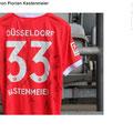 "Trikot, Torwarttrikot, Heimtrikot (Template) ""Heimat"", Saison 2020/21, Fortuna Düsseldorf, matchworn, Nr. 33, Florian Kastenmeier, Uhlsport, Henkel, Toyo Tires"