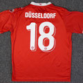 Trikot, Auswärtstrikot, Saison 2017/2018, Fortuna Düsseldorf, Jugend, U16, matchworn, Nr. 18, Uhlsport, Stadtsparkasse Düsseldorf