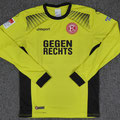 Trikot, Torwarttrikot, Sondertrikot Gegen Rechts, Saison 2017/2018, Fortuna Düsseldorf, Nr. 38, matchprepared, Tim Wiesner, Orthomol