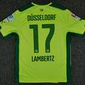 "Trikot, Ausweichtrikot, Fortuna Düsseldorf, Saison 2014/15, matchworn, Nr. 17, Andreas ""Lumpi"" Lambertz, Puma, Otelo, Hermes"