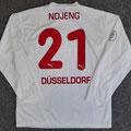 Trikot, Auswärtstrikot, Saison 2004/2005, Fortuna Düsseldorf, matchworn, Nr. 21, Marcel Ndjeng, Puma, Stadtsparkasse Düsseldorf
