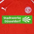 Trikot, Ausweichtrikot, Wintercup, Saison 2011/2012, Fortuna Düsseldorf, matchworn, Nr. 18, Thomas Bröker, Puma, Stadtwerke Düsseldorf
