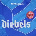 Torwart, Torwarttrikot, Torwarttrikot-Set inkl. Hose, Saison 1996/1997, Fortuna Düsseldorf, matchworn, Nr. 42, Thorsten Walther, Umbro, Diebels/Diebels Alt