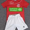 Fortuna Düsseldorf, Saison 2017/2018, Trikot-Set, Trikot, Fußballcamp Sommer 2017/18, Stadtwerke Düsseldorf